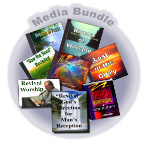 "Media Bundle   Rivers of Worship Lost  in His Glory ""Revival"" God's  Direction for Man's  Reception"